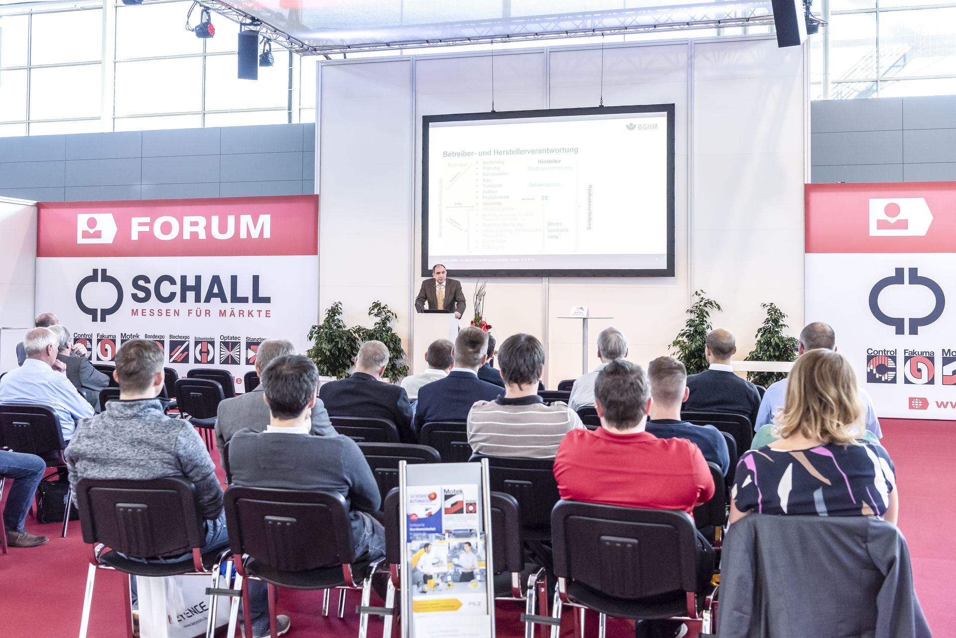 Motek & Bondexpo Highlight Aussteller-Forum